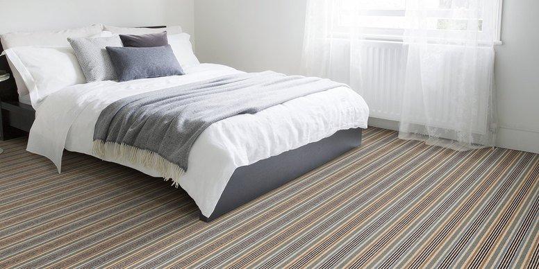 Alternative Flooring Margo Selby Stripe Surf Viking Carpet