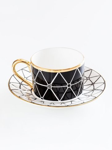 Anatomy Boutique Anatomy of Digestion Cup & Saucer - Lobules