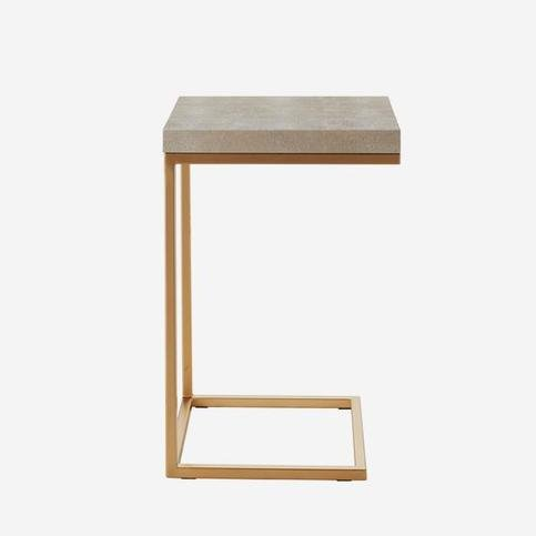 Andrew Martin Ashley Cream Side Table