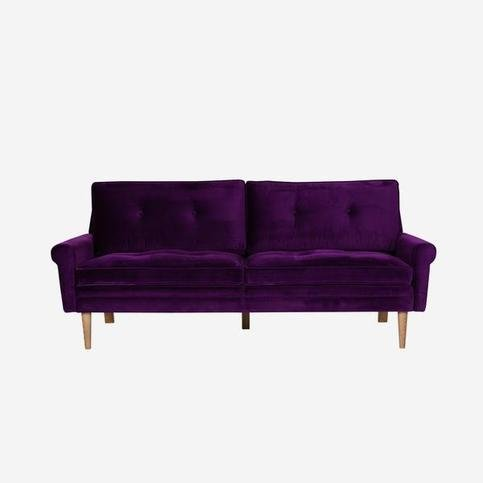 Andrew Martin Firecracker Grape Escape Sofa