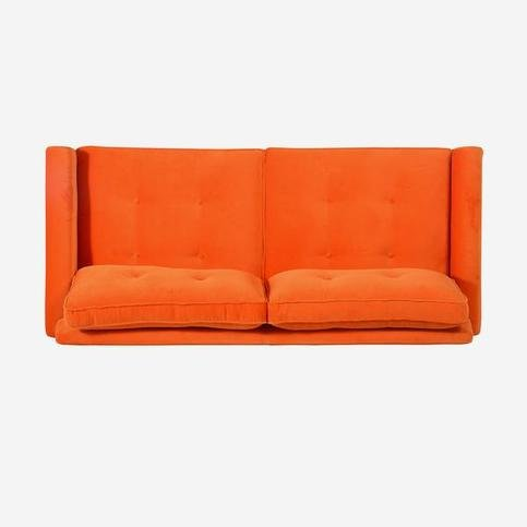 Andrew Martin Firecracker Tangerine Dream Sofa