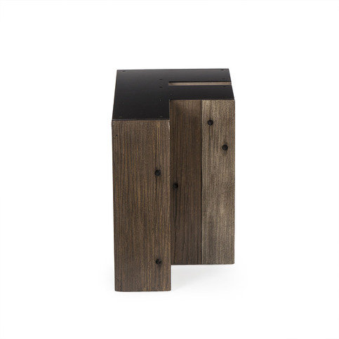 Andrew Martin Wooden Alphabet F Side Table