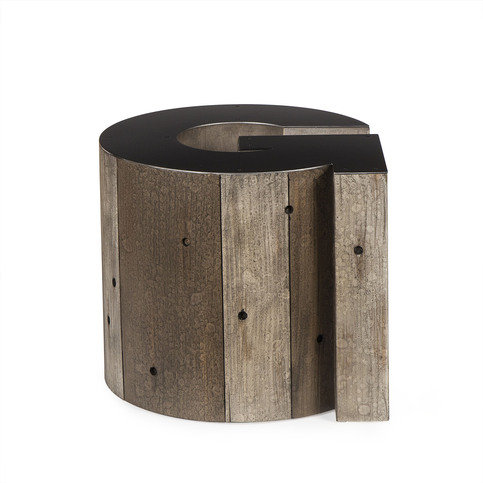 Andrew Martin Wooden Alphabet G Side Table