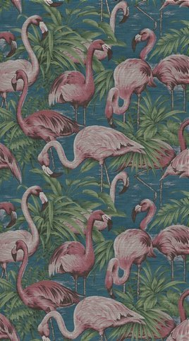 Arte Flamingo Wallcovering