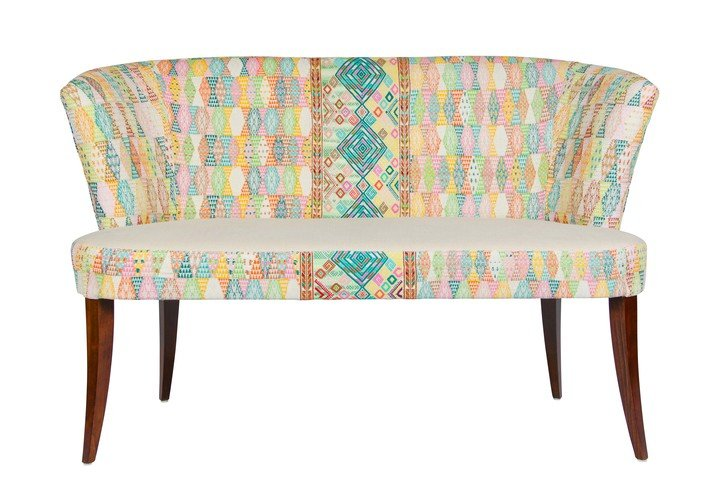 A Rum Fellow Ashbourne Sofa - Motagua & Mayula Brocade