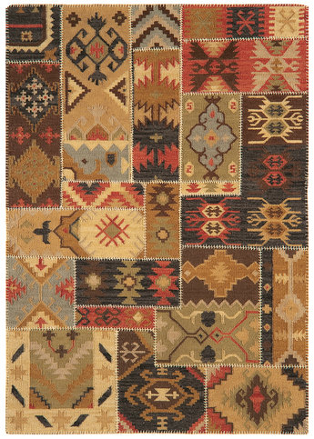 Asiatic Patchwork Kelim Rug