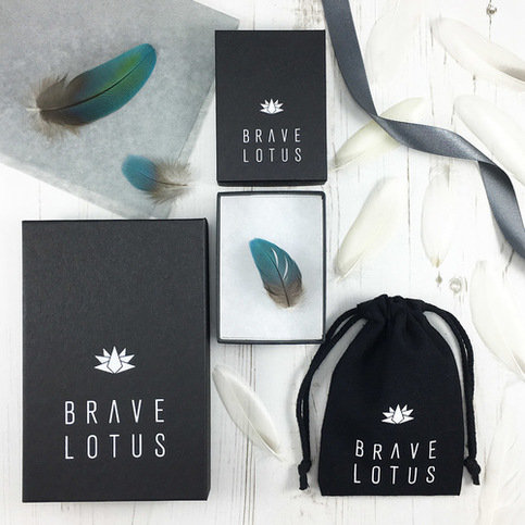 Brave Lotus Eclipse Silver Earrings