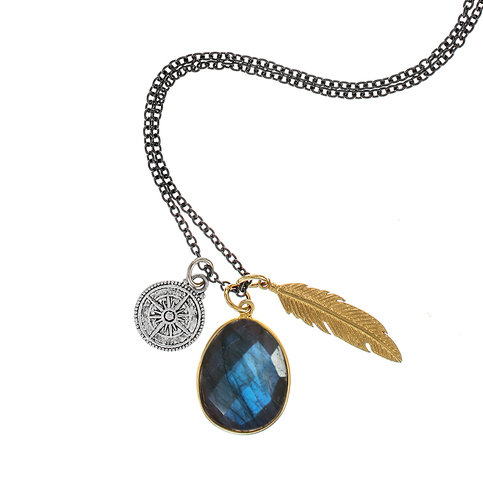 Brave Lotus Wandering Spirit Necklace