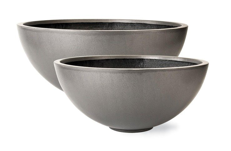 Capital Garden Products Geo Bowl Planter