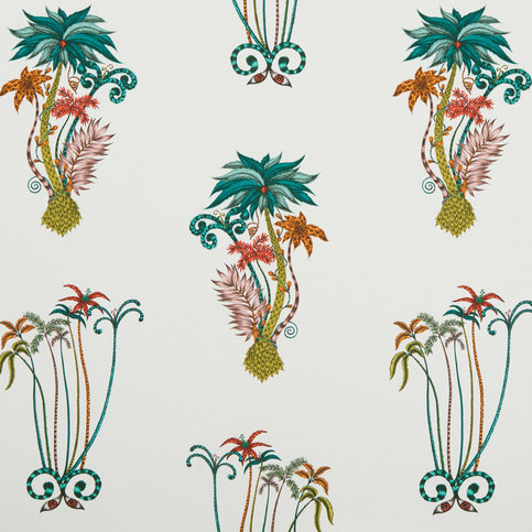 Emma J Shipley for Clarke & Clarke Jungle Palms Jungle Wallcovering