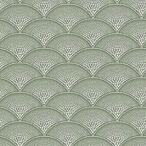 Cole & Son Feather Fan Jacquard Fabric Thumbnail