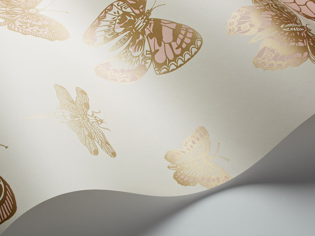 Cole & Son Butterflies & Dragonflies Wallcovering