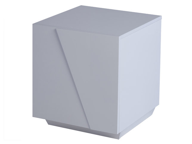 Gillmore Space Glacier Right Bedside Cabinet