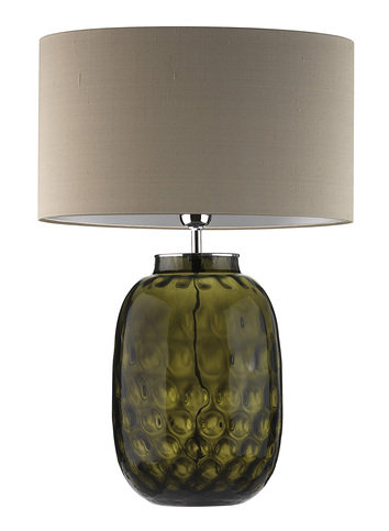 Heathfield Bubble Olive Table Lamp