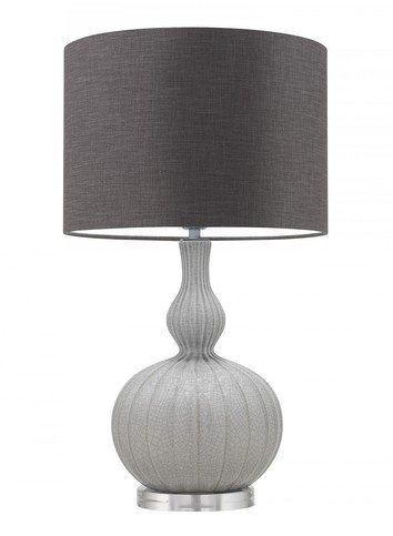 Heathfield Celine Natural Glacier Table Lamp