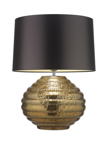 Heathfield Zoffany Colmea Gold Lamp