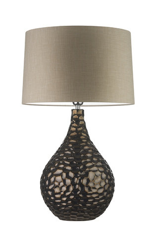 Heathfield Zoffany Novella Bronze Lamp