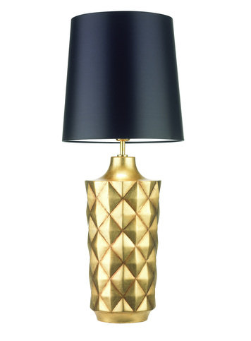 Heathfield Herzog Antique Gold Table Lamp