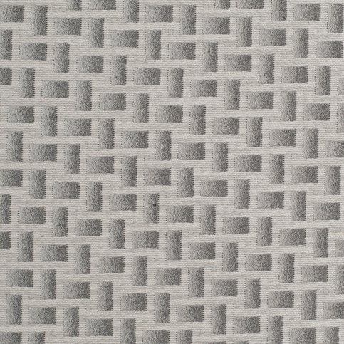 James Hare Abstract Grey Fabric