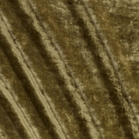 James Hare Carnaby Velvet Olivewood Fabric