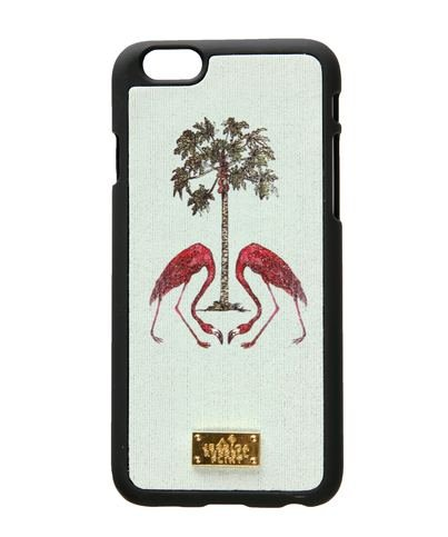 "Jessica Russel Flint ""Flamingo's Under the Palm Tree"" iPhone 6 Case"