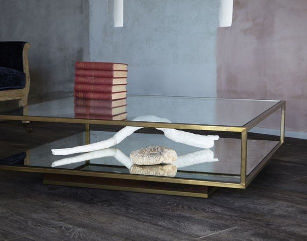 Julian Chichester Garcon Square Coffee Table Thumbnail