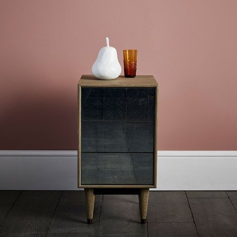 Julian Chichester Gorky Eglomise Bedside Table