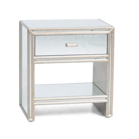 Julian Chichester Temple 1-Drawer Bedside Table