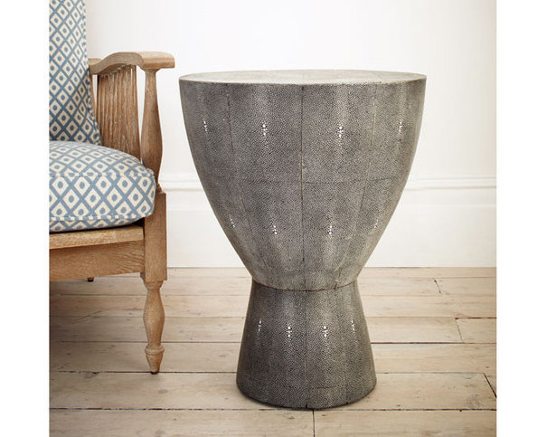 Julian Chichester Salamanca Faux Shagreen Side Table