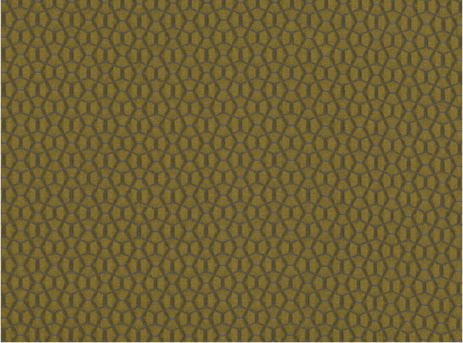 Kirkby Design Bounce Mustard Fabric