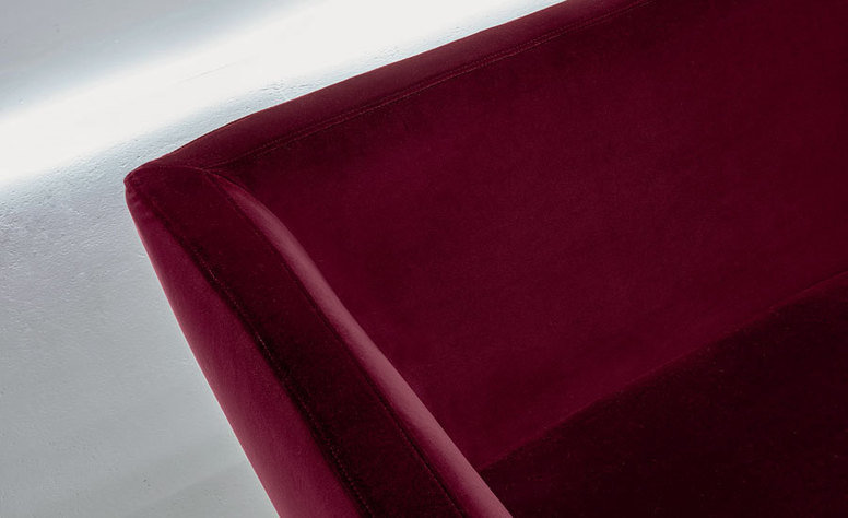 Kirkby Design Ice Ruby Fabric