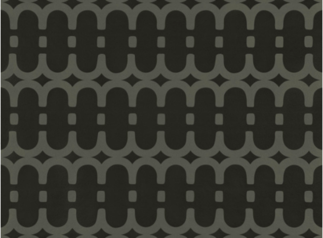 Kirkby Design Loopy Link Noir Wallcovering
