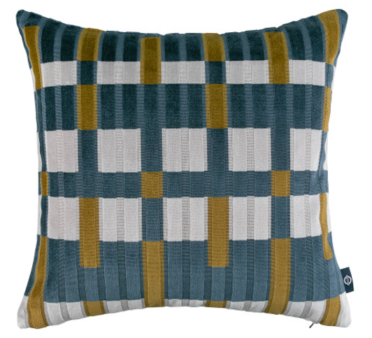 Kirkby Design Northern Petrol Cushion