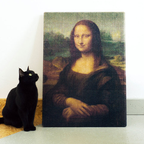 Lord Lou Copycat Art Mona Lisa Scratcher