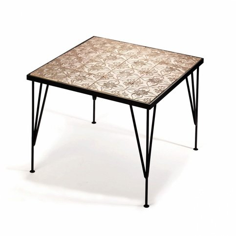 Mambo Unlimited Ideas Caldas Pattern Taupe Table