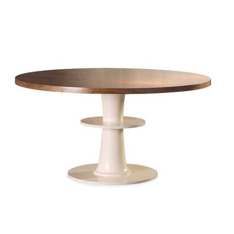 Mambo Unlimited Ideas Circule Ivory Dining Table