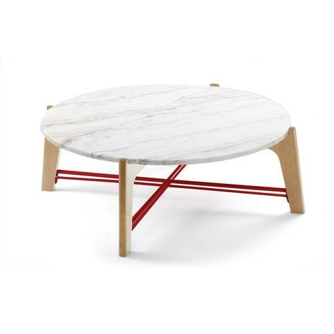 Mambo Unlimited Ideas Flex Marble and Oak Coffee Table