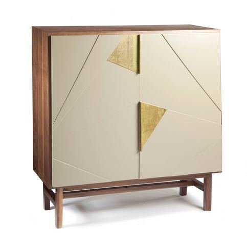 Mambo Unlimited Ideas Jazz Walnut Bar Cabinet