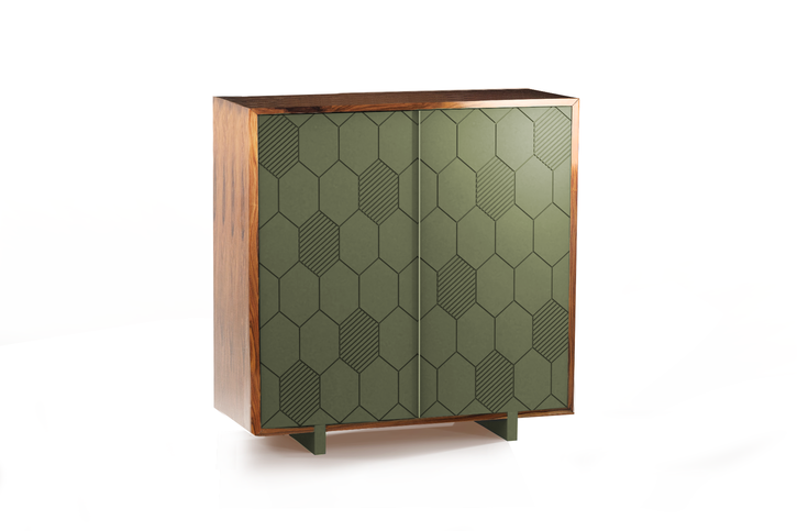 Mambo Unlimited Ideas Lewis Aloe Bar Cabinet