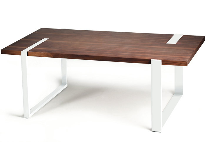 Mambo Unlimited Ideas Max Walnut Dining Table