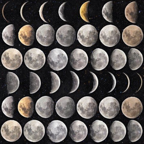 Mind The Gap Moon Phases Wallpaper