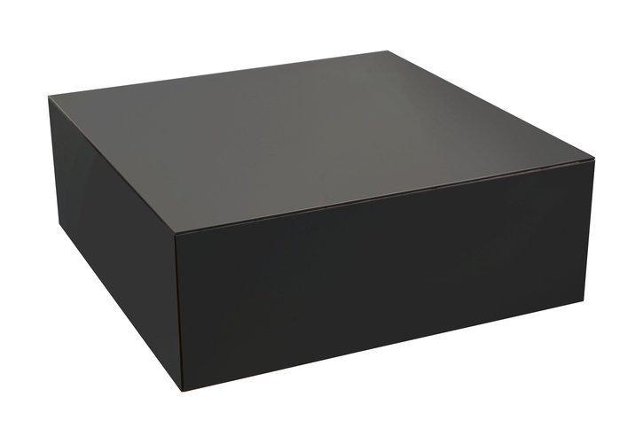 Notre Monde Charcoal Cube Coffee Table