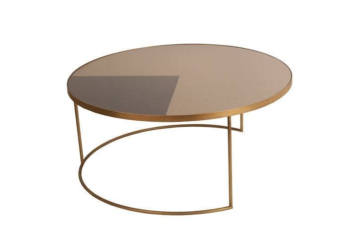 Notre Monde Geometric Round Coffee Table