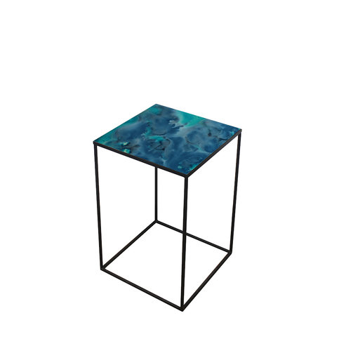 Notre Monde Midnight Crush Side Table
