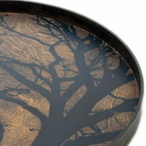 Notre Monde Black Tree Tray Thumbnail