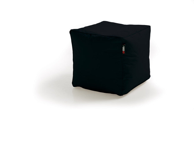 Pouf Daddy The Pouf Original Cube Black Bean Bag Seat