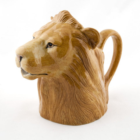 Quail Medium Lion Jug