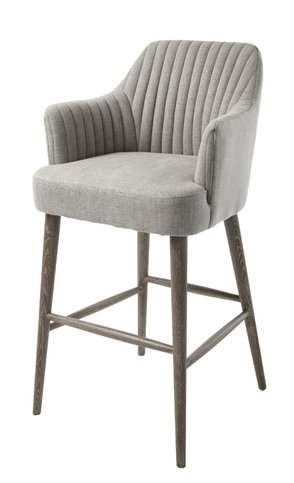 Pleasing R V Astley Blisco Bar Stool In Grey Dailytribune Chair Design For Home Dailytribuneorg