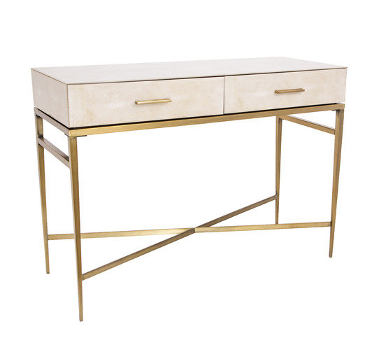 R V Astley Esta 2 Drawer Console Table Thumbnail
