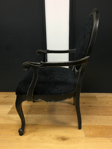 Solid Wood Gothic Style Chair